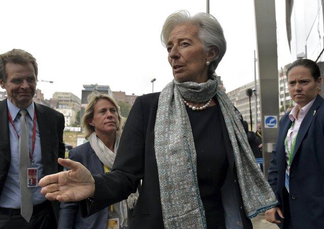 Christine Lagarde, jefa del Fondo Monetario Internacional (FMI)