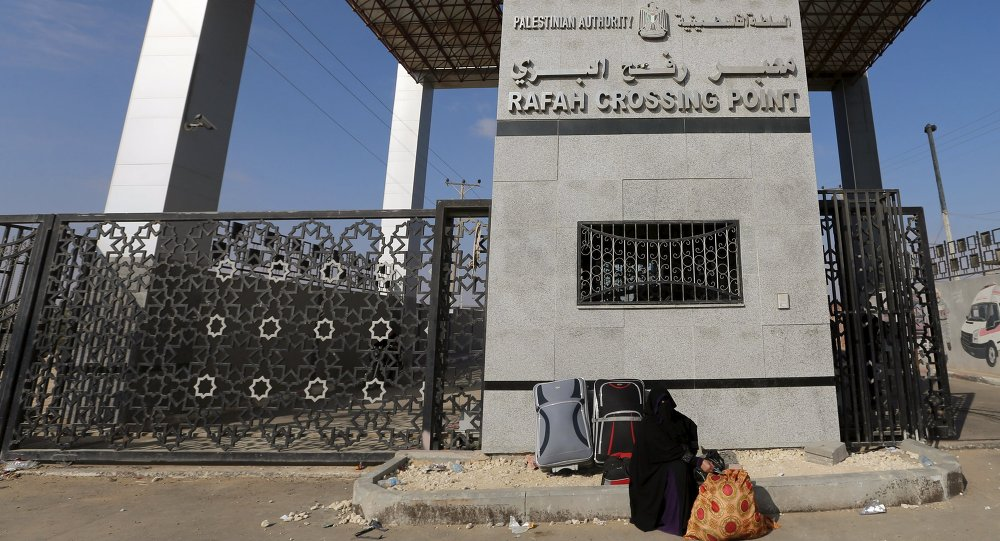 El paso de Rafah (archivo)