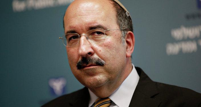 Dore Gold, director general del ministerio de Exteriores de Israel