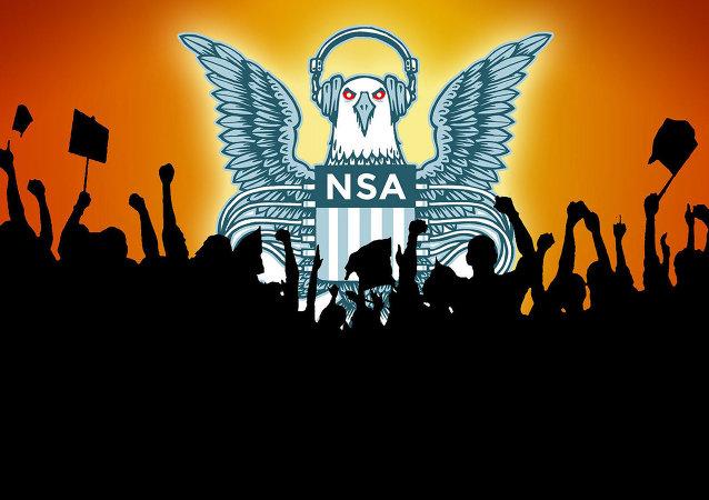 Cartel contra las escuchas de la NSA