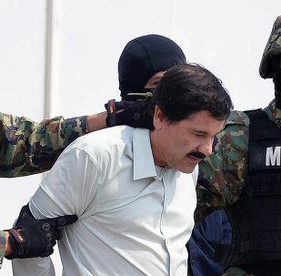 El narcotraficante Joaquín El Chapo Guzmán (archivo)