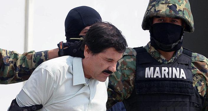 El narcotraficante Joaquín el 'Chapo' Guzmán (archivo)