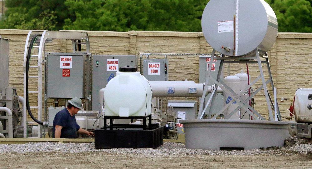 Examinación de los componentes de una fracturación hidráulica