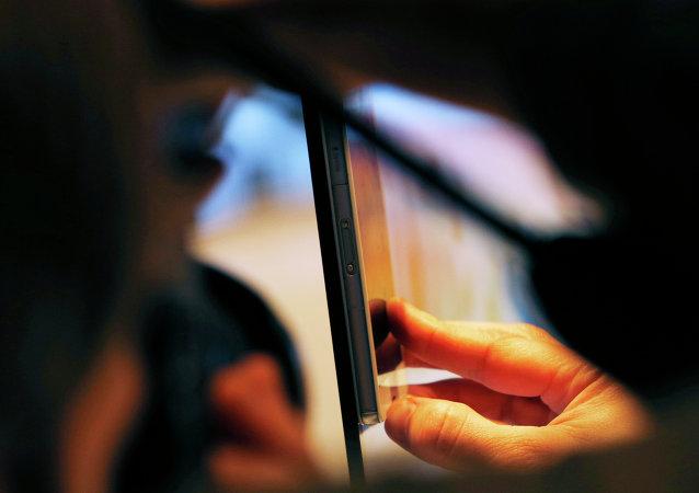 Televisor inteligente Sony e iphone