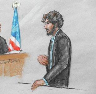 Dzhokhar Tsarnaev ante el tribunal