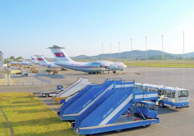 Aeropuerto Internacional de Sunan (Archivo)
