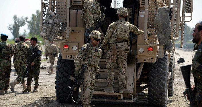 Militares estadounidenses en Afganistán (archivo)