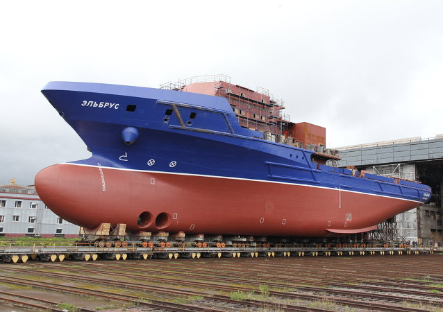 El nuevo barco Elbrús del proyecto 23120