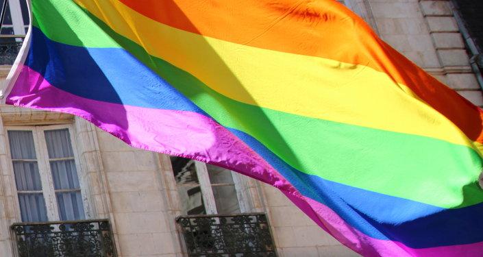 Bandera de LGBT