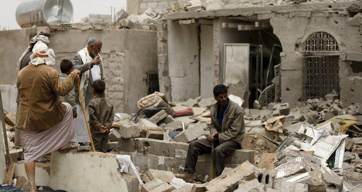 Situación en la capital de Yemen, Saná
