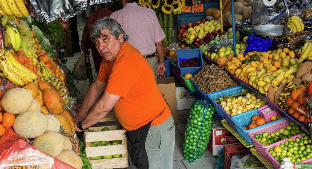Mercado en San Miguel Allende, México