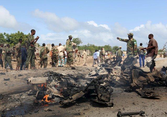 Ataques terroristas del grupo radical Al Shabab en Somalia