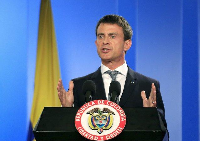 El primer ministro de Francia Manuel Valls