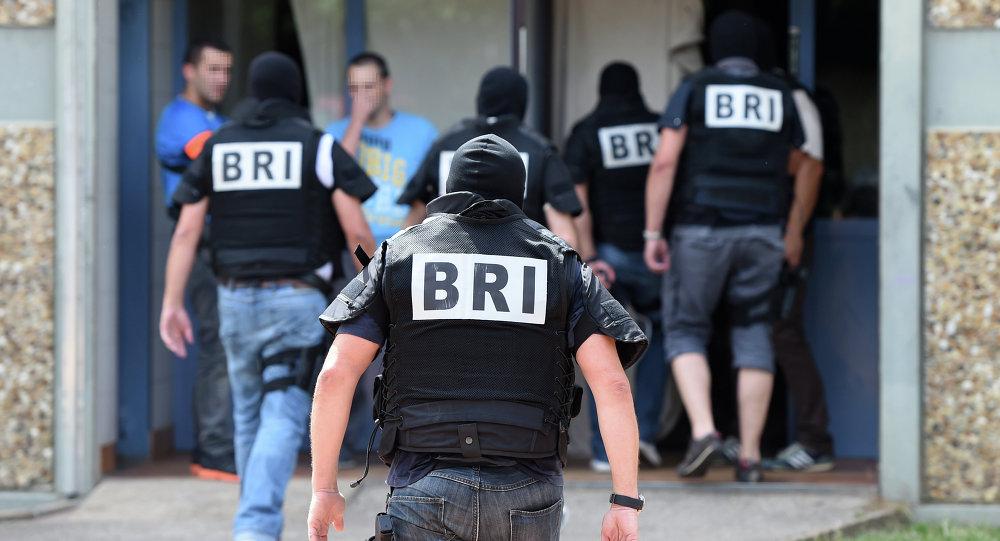 Fuerzas especiales de Francia en el lugar del atentado