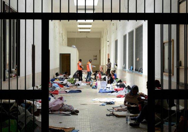 Refugiados africanos (archivo)