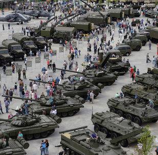 Foro técnico-militar Army 2015, el 19 de junio, 2015