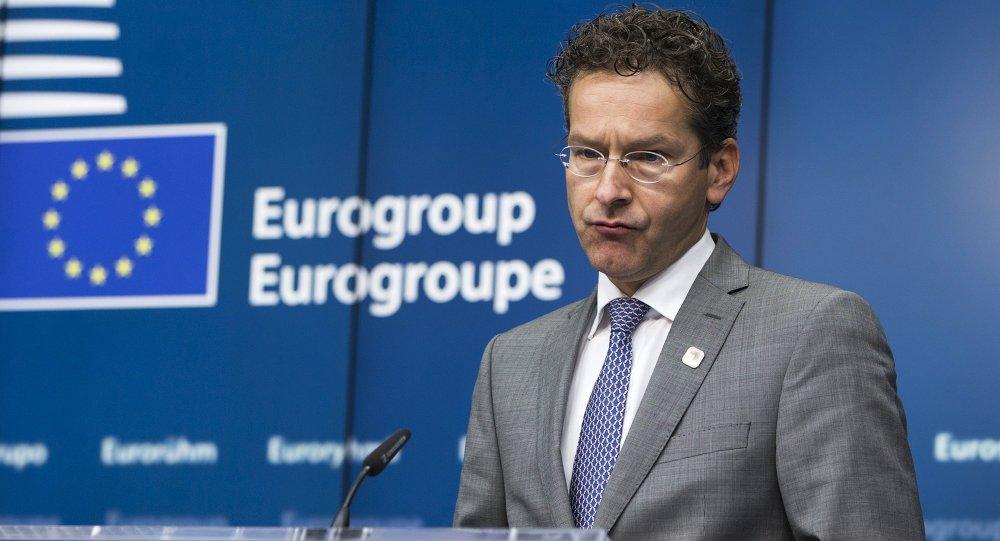 Jeroen Dijsselbloem, presidente del Eurogrupo en Bruselas, Bélgica, el 22 de junio, 2015