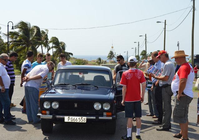 Automóvil Lada en Cuba