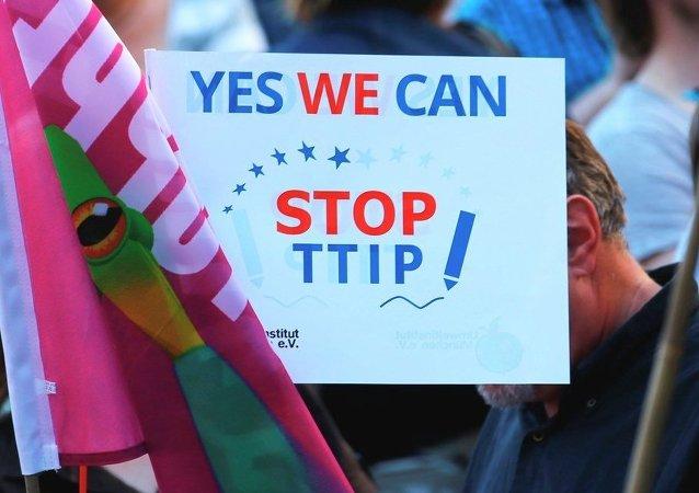 Manifestación contra TTIP (Archivo)