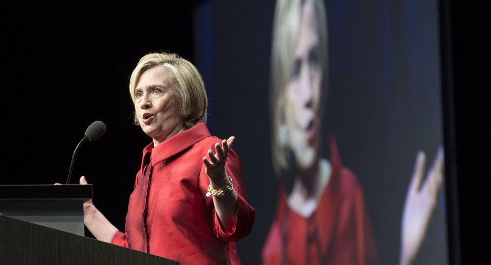 Hillari Clinton, ex secretaria de Estado de EEUU