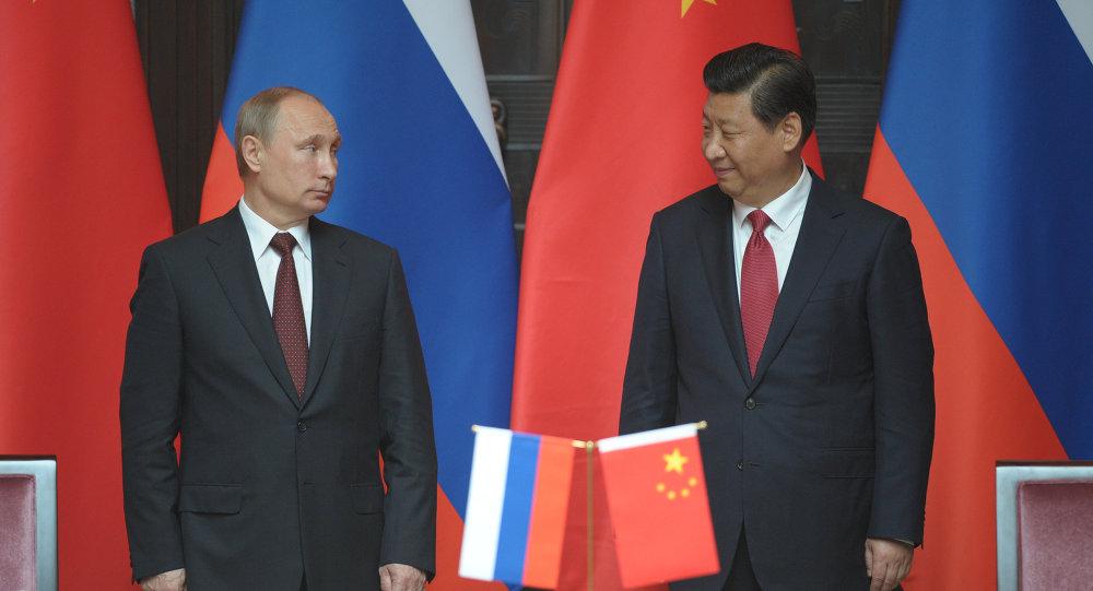 Resultado de imagen de fotos de Merkel, Putin y el presidente chino