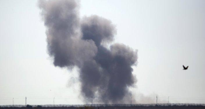 Una explosición en la península de Sinaí (archivo)