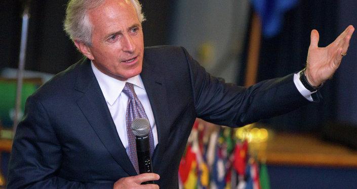 Robert Corker, presidente del Comité de Relaciones Exteriores del Senado de EEUU