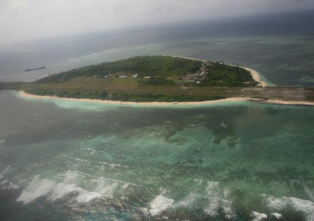 Isla de archipiélago Spartly