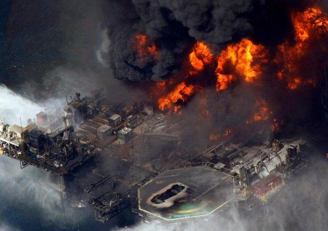 Derrame en el Golfo de México (archivo de 2010)
