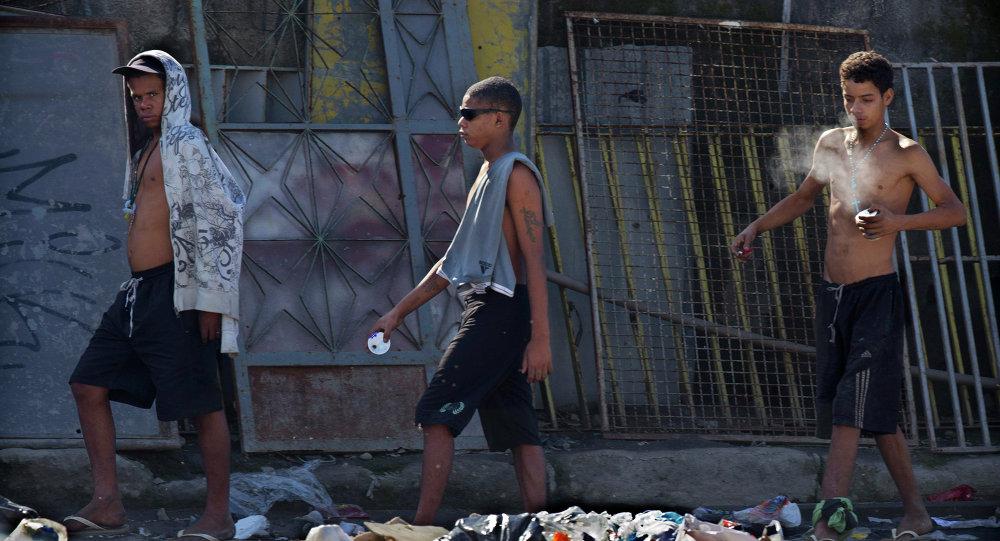 Adolescentes en Río de Janeiro