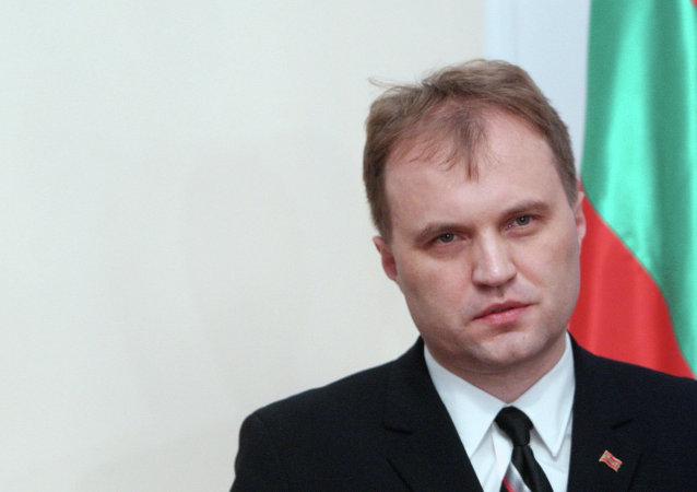 Evgueni Shevchuk, líder de Transnistria