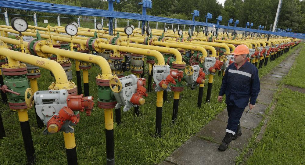 Almacén subterráneo de gas en el oeste de Ucrania
