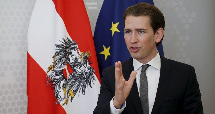 Sebastian Kurz, el canciller federal de Austria
