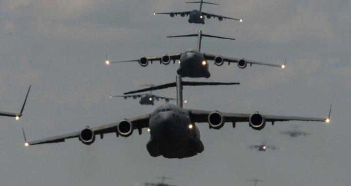Aviones militares de EEUU (archivo)