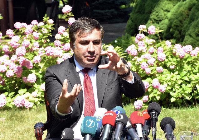 Mijaíl Saakashvili, gobernador de la región de Odesa