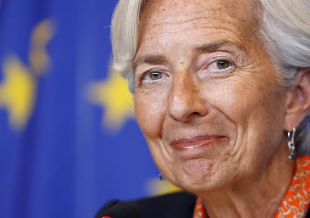 Christine Lagarde, directora del Fondo Monetario Internacional