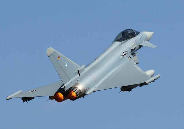 Caza Eurofighter Typhoon de la Fuerza Aérea de Alemania