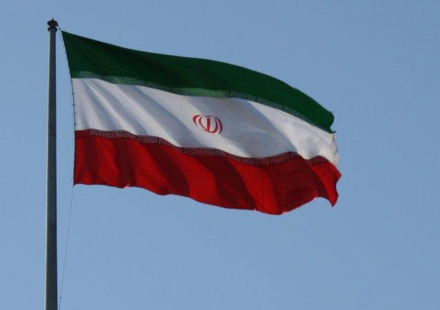 Bandera de Irán (imagen referencial)