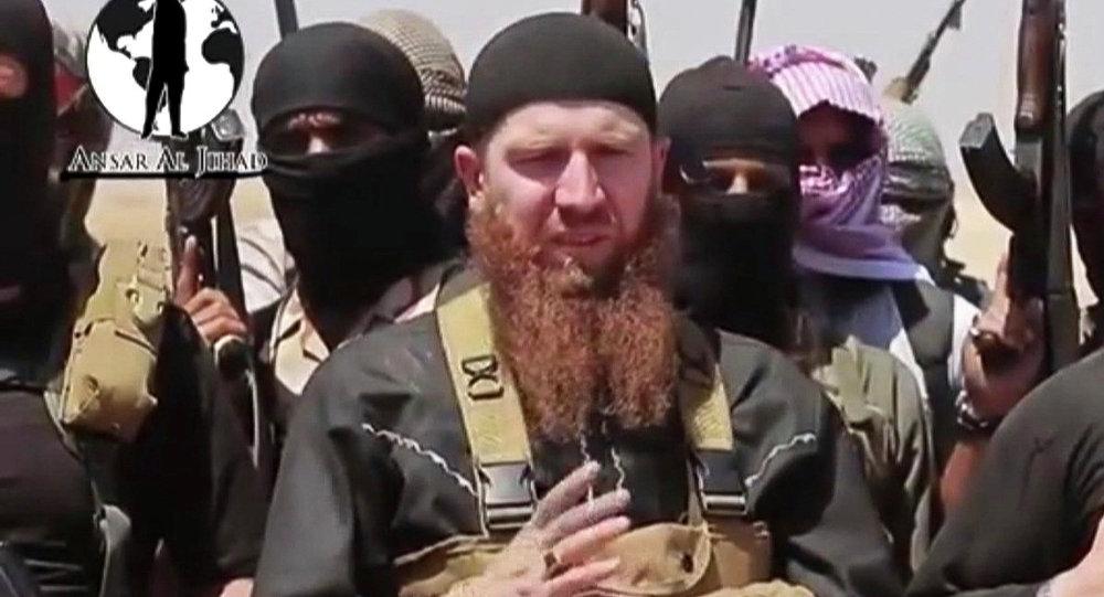 Señor de la guerra rusoparlante de Estado Islámico, Abu Omar al-Shishani