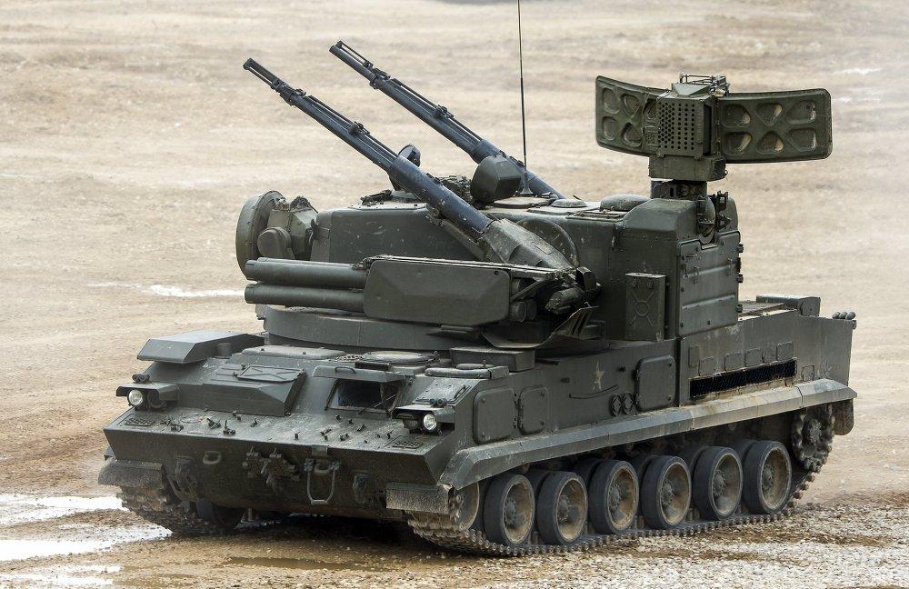 Sistema antiaéreo Tunguska