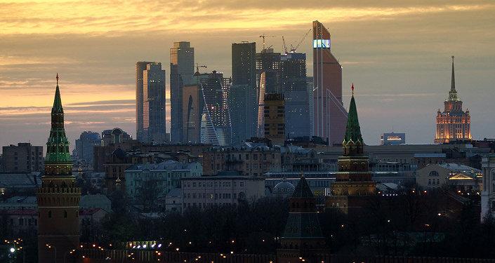 Moscú, capital rusa