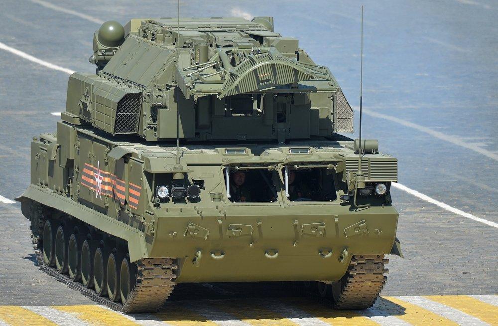 Sistema antiaéreo táctico todo tiempo TOR-M2U
