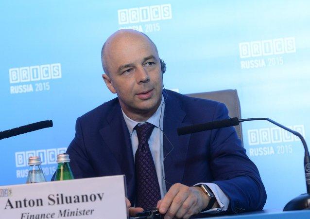 Antón Siluánov, ministro de Desarrollo Económico de Rusia