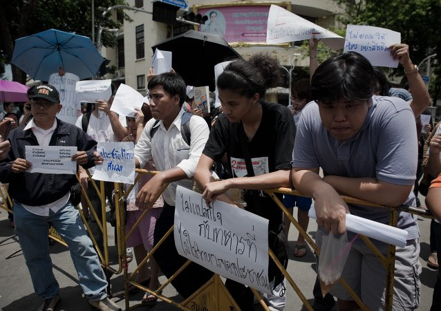 Inteligencia tailandesa sospecha que EEUU apoyó protestas estudiantiles