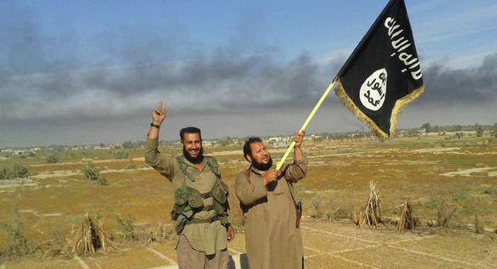 Militantes del Estado Islámico en Irak, el 28 de junio, 2015