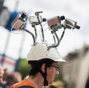 Manifestación en contra del espionaje de la NSA en Alemania