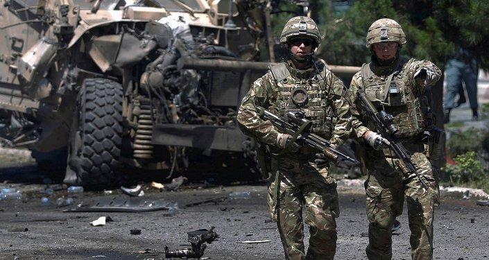 Tropas de la OTAN en Kabul, Afganistán (archivo)