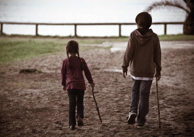 Niños españoles (archivo)
