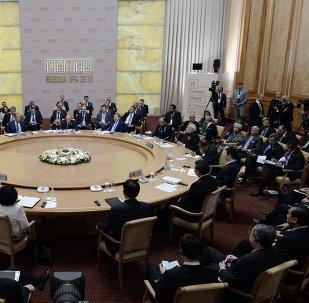 Reunión de los líderes de BRICS
