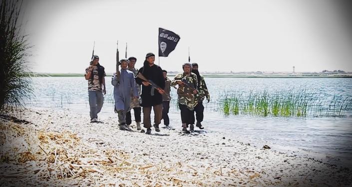 Militantes indonesios del Estado Islámico